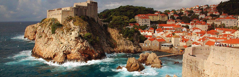 Walls of Dubrovnik in Croatia | ETIAS Schengen Countries