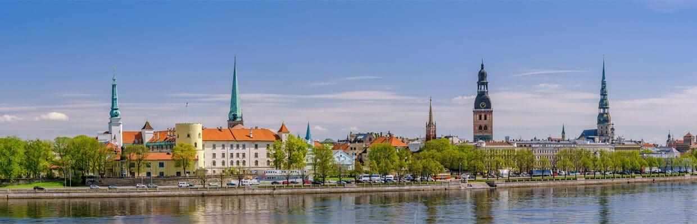Riga Skyline in Latvia | ETIAS Schengen Countries