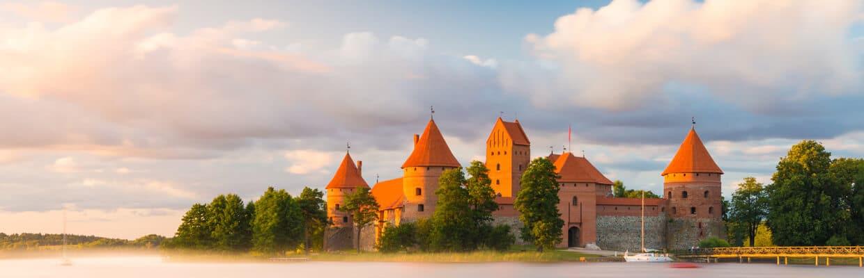 The Trakai Island Castle in Lithuania | ETIAS Schengen Countries