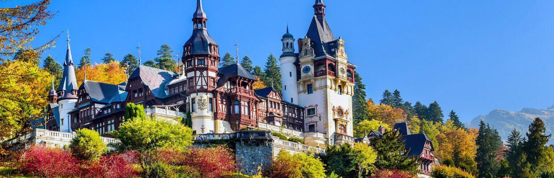 Peleş Castle in Sinaia, Romania   ETIAS Schengen Countries