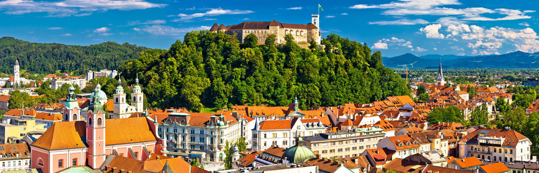 Ljubljana Panorama, Slovenia | ETIAS Schengen Countries